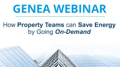 How property teams can save energy by going on-demand